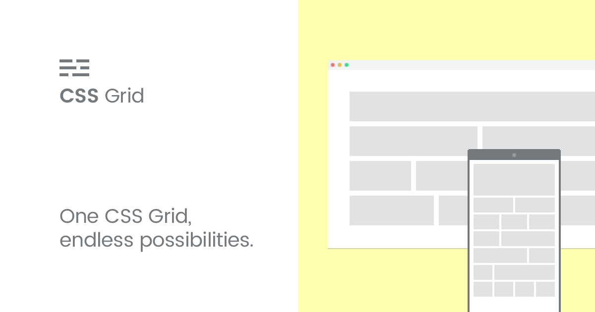 Responsive CSS Grid | Build your own websites with this easy to use